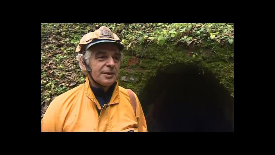 Video Speleolog Bohuslav Koutecký o Amatérské jeskyni