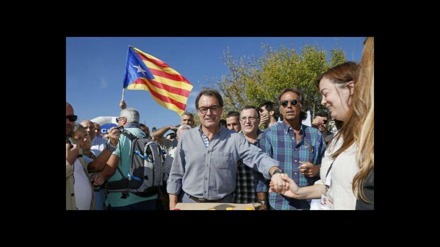 Video Španělský novinář: Katalánci hlasují o samostatnosti, ne nezávislosti