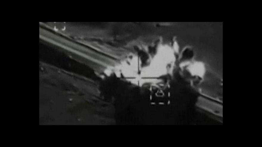 Video Americké letectvo zaútočilo na odnož al-Káidy