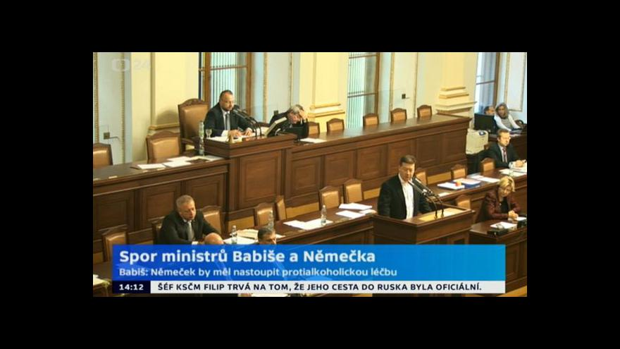 Video Ve sněmovně se strhla roztržka o sporu Němečka s Babišem