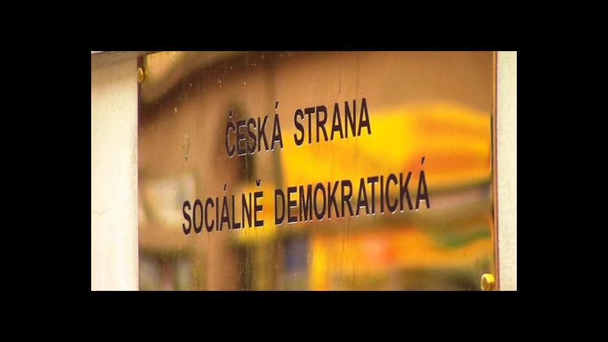 Video ČSSD se od koalice v Duchcově distancuje