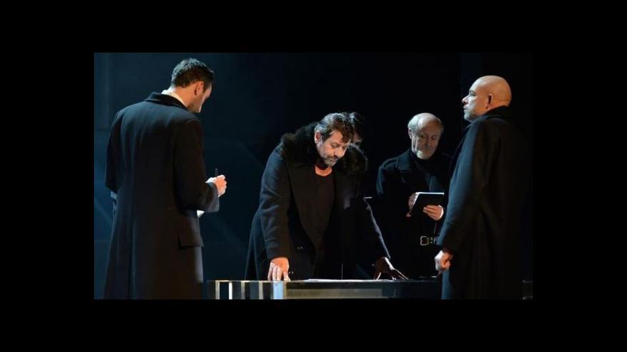Video Městské divadlo Brno přivítalo Prince Homburského