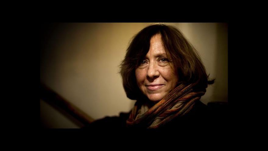 Video Světlana Alexijevičová: Rusko ve válce porazit nelze