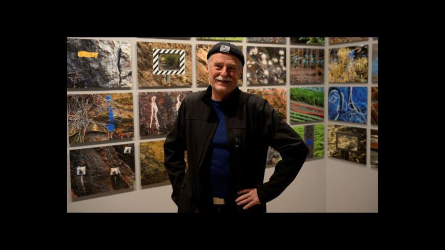 Video Jan Ságl vystavuje v Leica Gallery