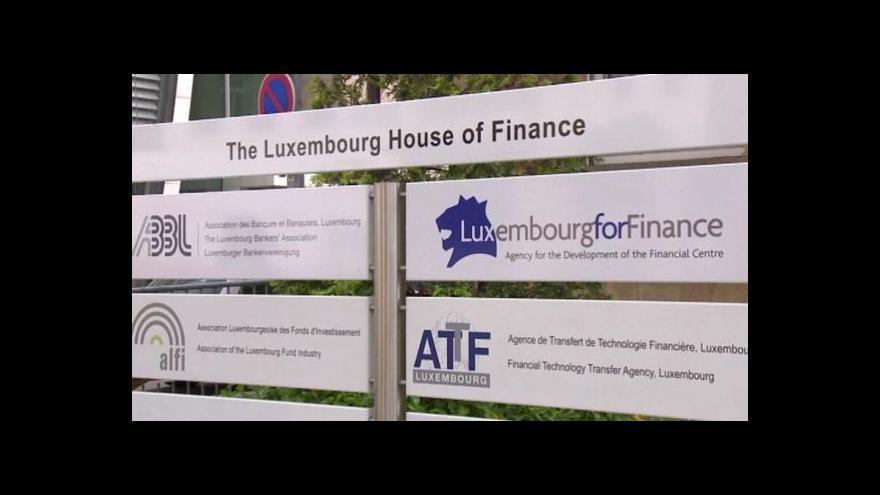 Video Horizont ČT24 k případu tzv. Luxembourg Leaks