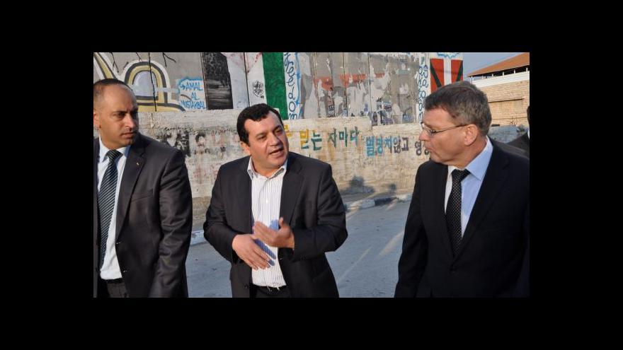Video Zaorálek v Palestině odsoudil násilí v Jeruzalémě
