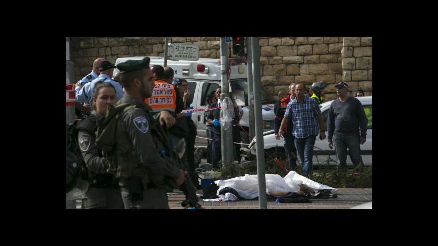 Video Zpravodaj ČT: Útočník ze Západního břehu se vzdal