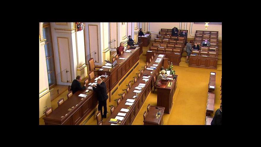 Video Poslanců bylo tak málo, že nemohli nic odhlasovat