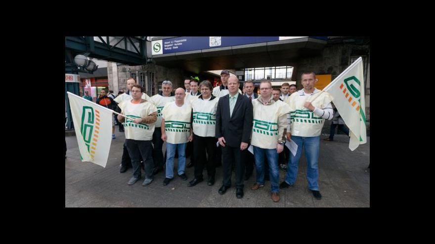 Video Stávky německých strojvůdců ztrácejí podporu veřejnosti