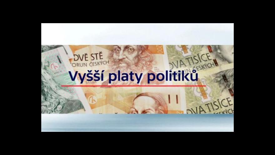 Video Poslanci rozhodují o platech ústavních činitelů