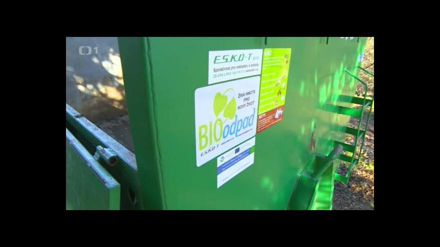 Video Povinně se bude třídit bioodpad a kovy