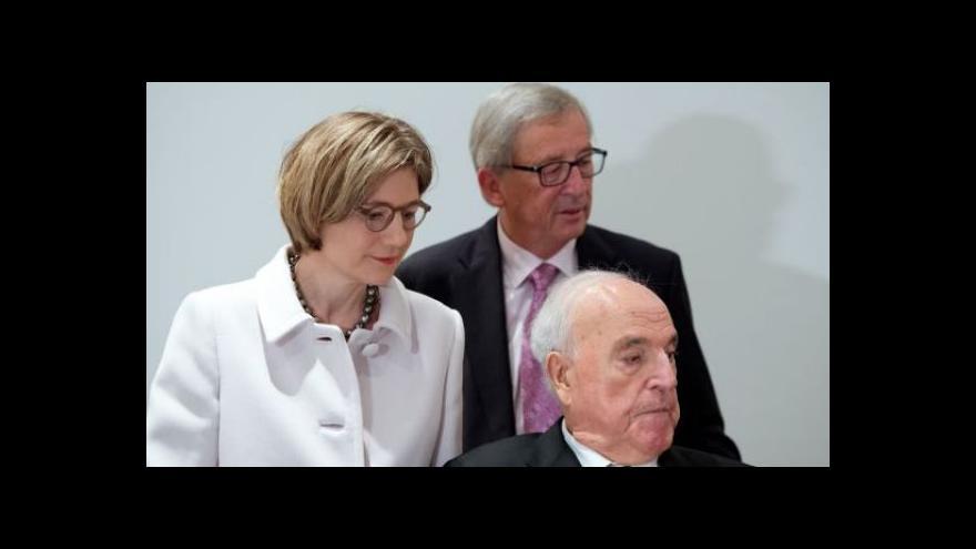 Video Kohl kritizuje protiruské postoje i nástupce Schrödera
