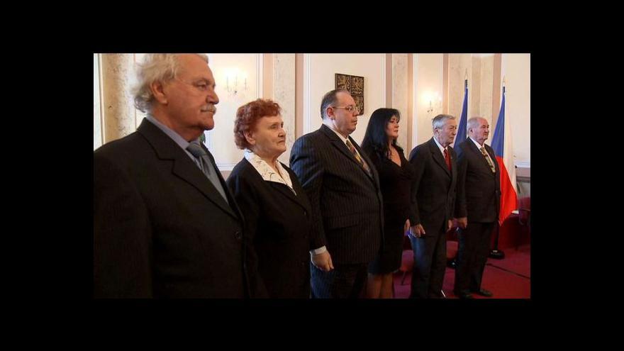 Video Na Úřadu vlády byli oceněni bojovníci proti komunismu