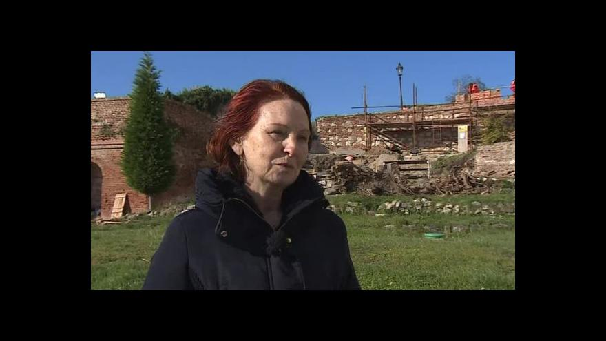 Video O obnově zahrady hovoří koordinátorka rekonstrukce Milada Rigasová