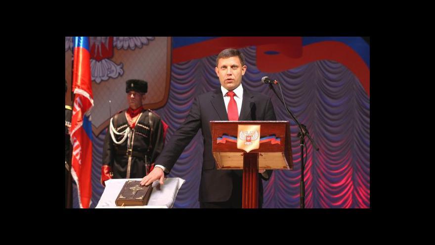 Video Horizont: Separatisté mají své prezidenty