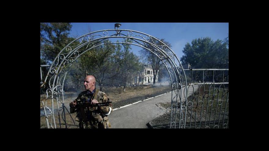 Video Šír z FSV UK: Separatisté porušili dohody z Minsku