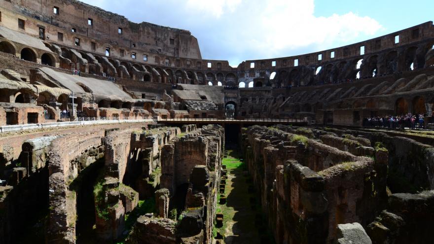 Video Horizont ČT24: Rekonstrukce Kolosea