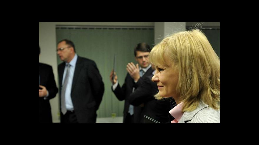 Video Slovenská ministryně zdravotnictví končí