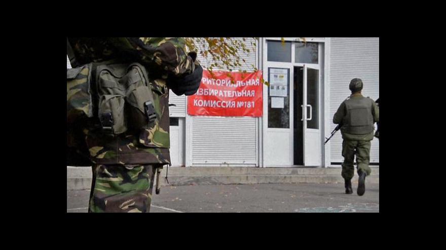 Video Doubrava a Romancov k volbám v Donbasu
