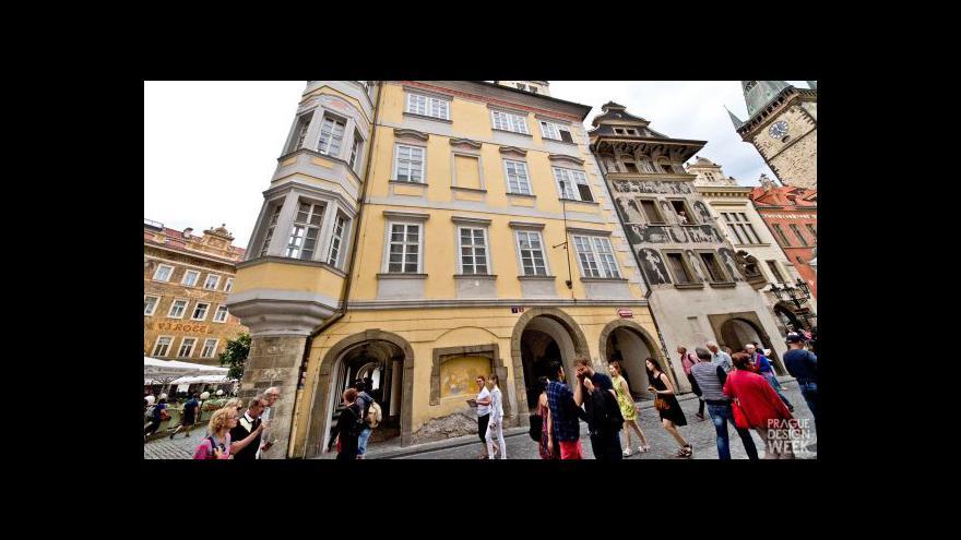 Video Prague Design Week seznamuje celý týden se současným designem