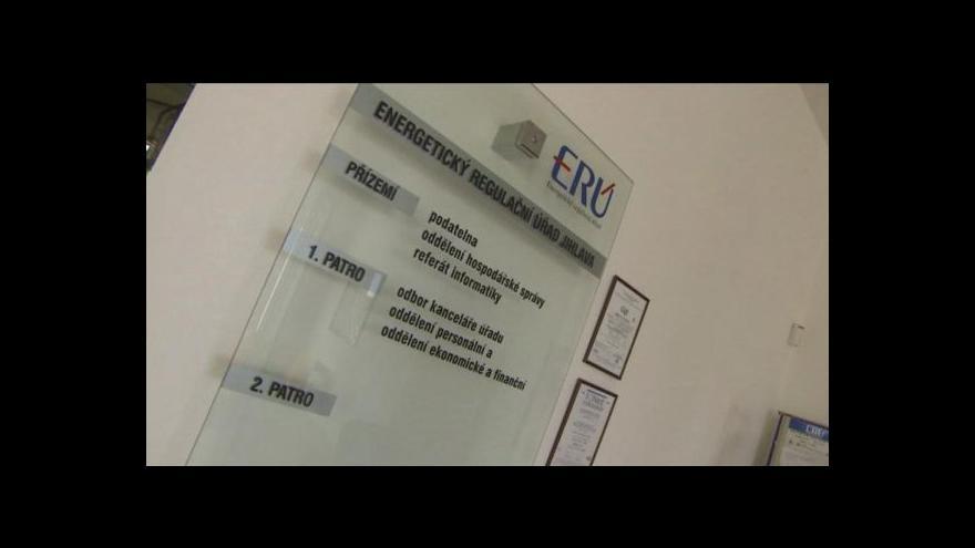 Video Předsedkyně ERÚ kritizovala novelu energetického zákona