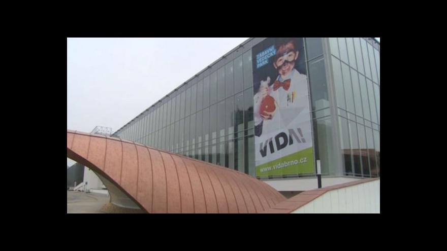 Video V Brně se chystá otevření vědecko-zábavního parku Vida!
