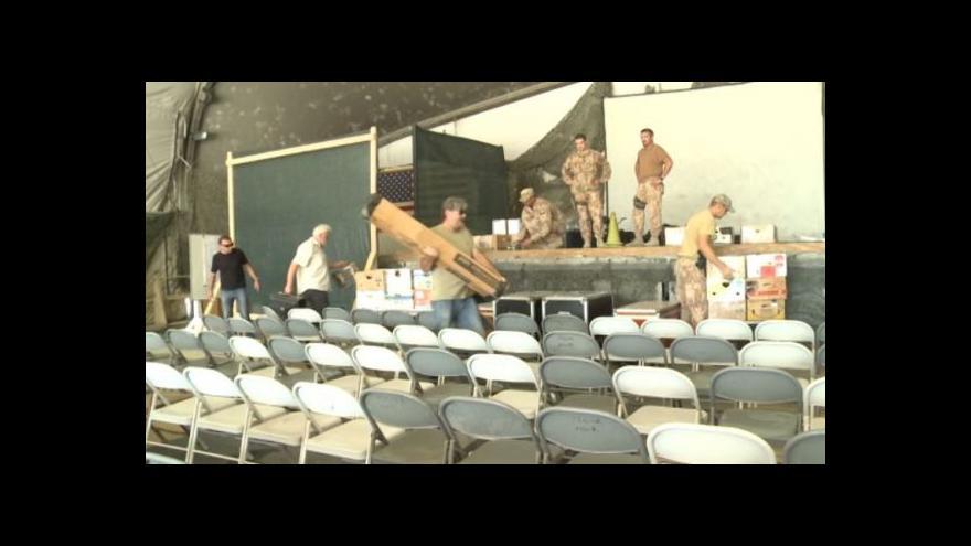 Video Divadlo Sklep v Afghánistánu