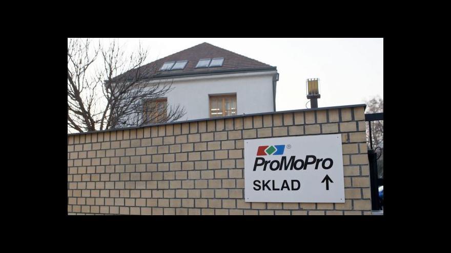Video Události: Začal soud v kauze Promopro