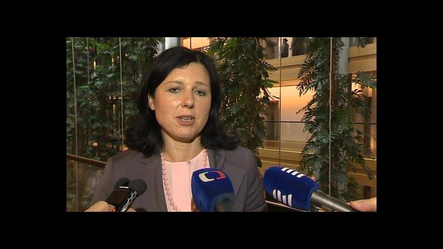 Video Jourová: Je to pro mě čest být v Junckerově týmu