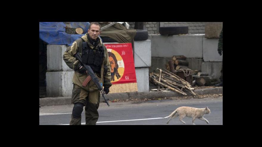 Video Karas: O příměří nejde v Doněcku vůbec mluvit