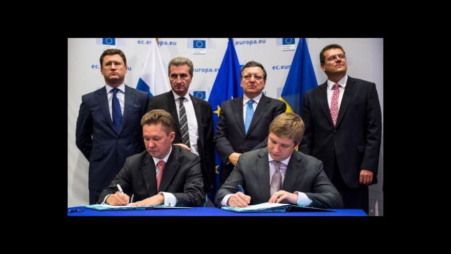 Video Dárek na rozloučenou pro Barrosa? Dohoda o plynu