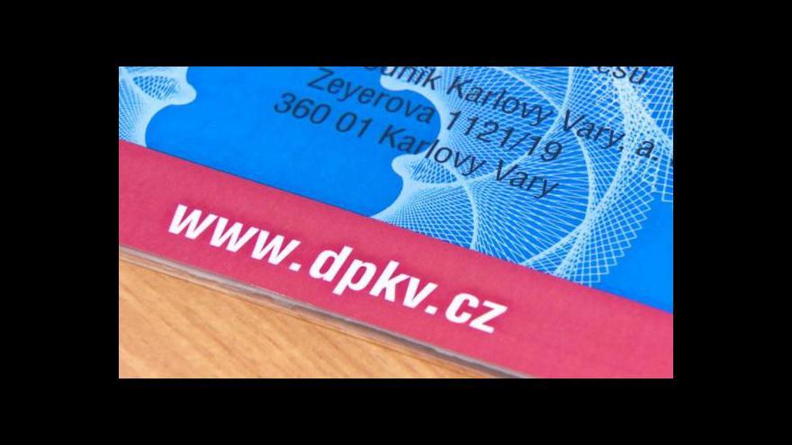 Video Karlovy Vary zavádějí kartu pro MHD
