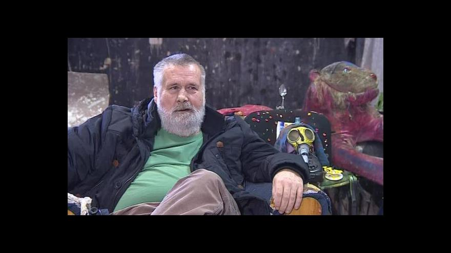 Video Umělec Václav Stratil o svých výtvorech