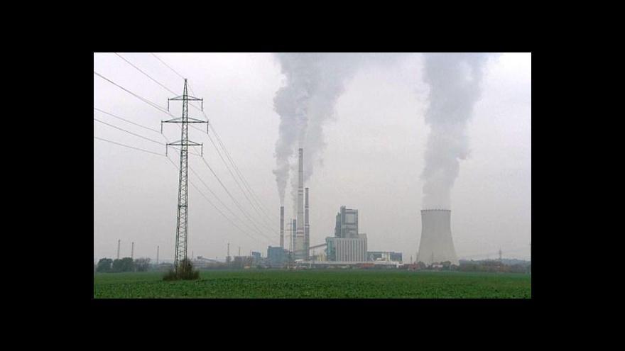 Video Mělnická elektrárna snížila o více než polovinu oxidy dusíku