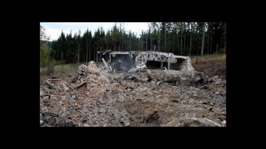 Video O skladu munice hovoří starosta V. Klobouk Dalibor Maniš /SPO/