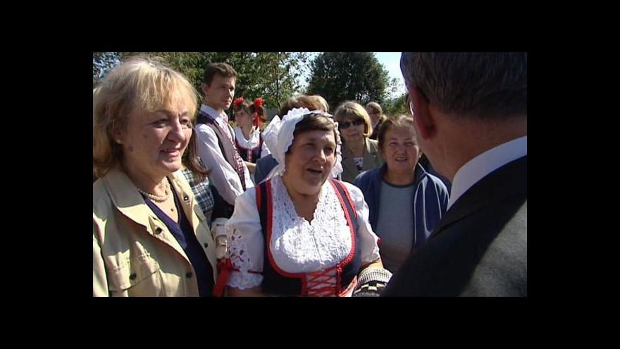 Video Ministr Zaorálek se setkal s krajany v Užhorodu