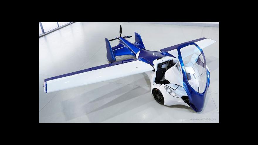 Video Na veletrhu ve Vídni se představil aeromobil, kříženec auta a letadla