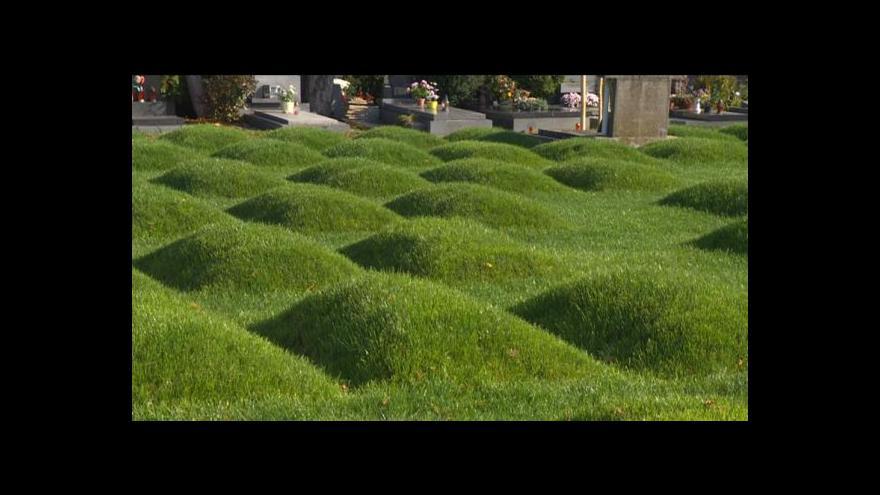 Video Válečný hřbitov v Chrudimi dostal novou tvář
