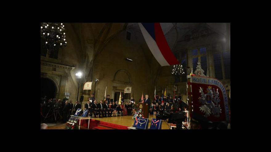 Video Komentář Petra Honzejka k státním vyznamenáním