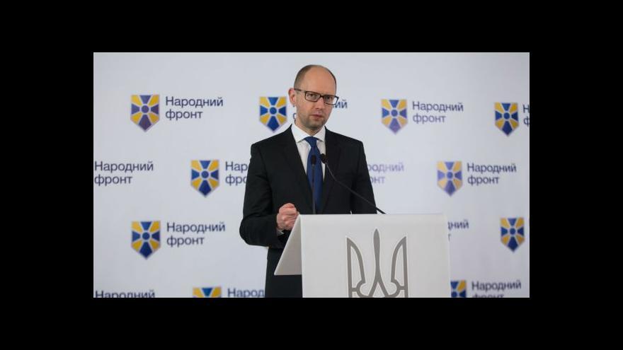 Video Na Ukrajině se rozeběhla jednání o koalici
