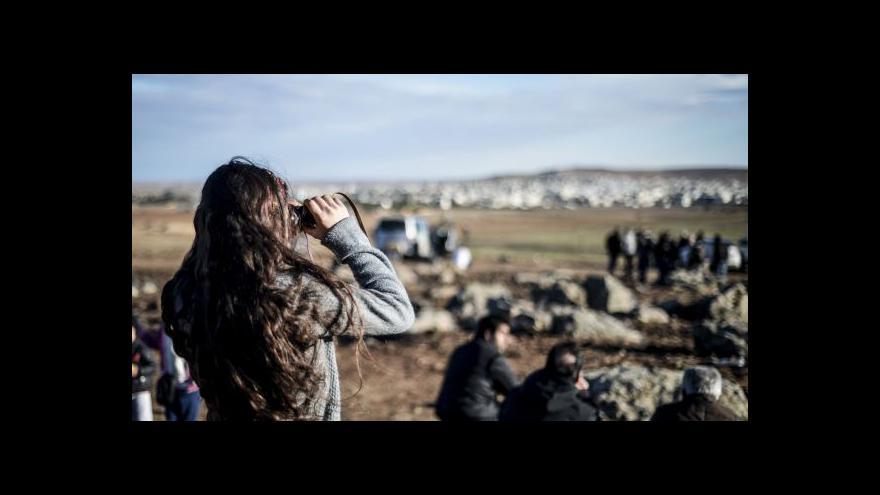 Video Zpravodaj ČT: První skupina pešmergů se připojila k obráncům