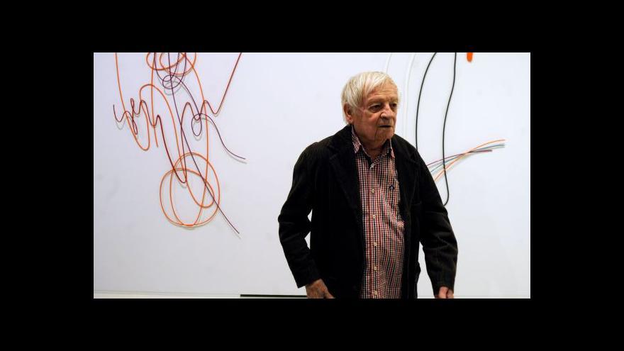 Video Karel Malich vystavuje v Praze