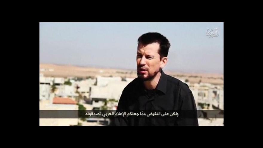 Video John Cantlie se ocitl v syrském zajetí už podruhé
