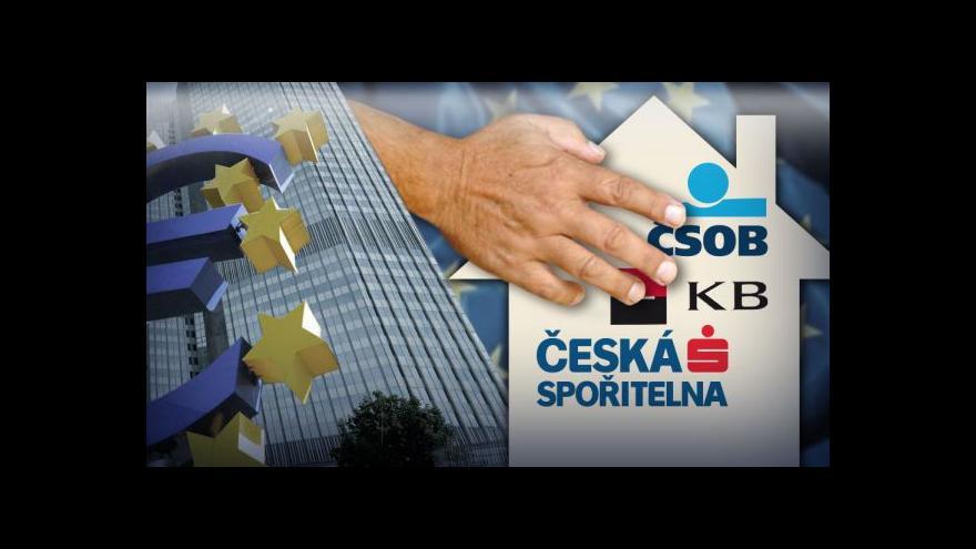 Video Ekonomika ČT24 k zátěžovým testům ECB