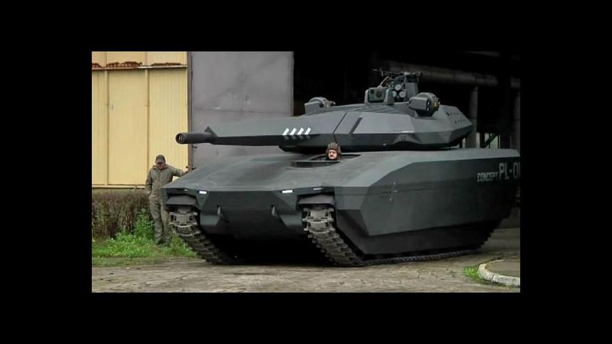 Video Poláci pracují na koncepci neviditelného tanku