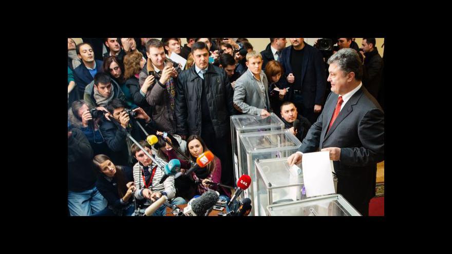 Video Ukrajina volila prozápadně