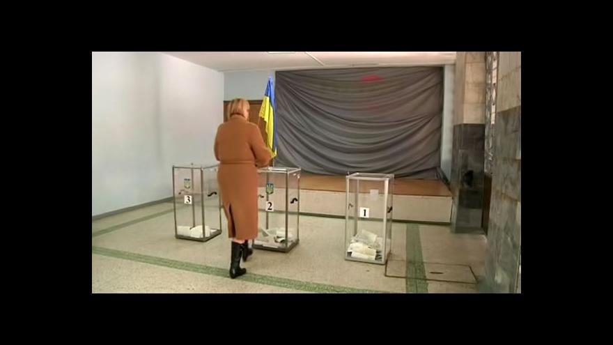 Video Horizont ČT24 k ukrajinským volbám (1. část)