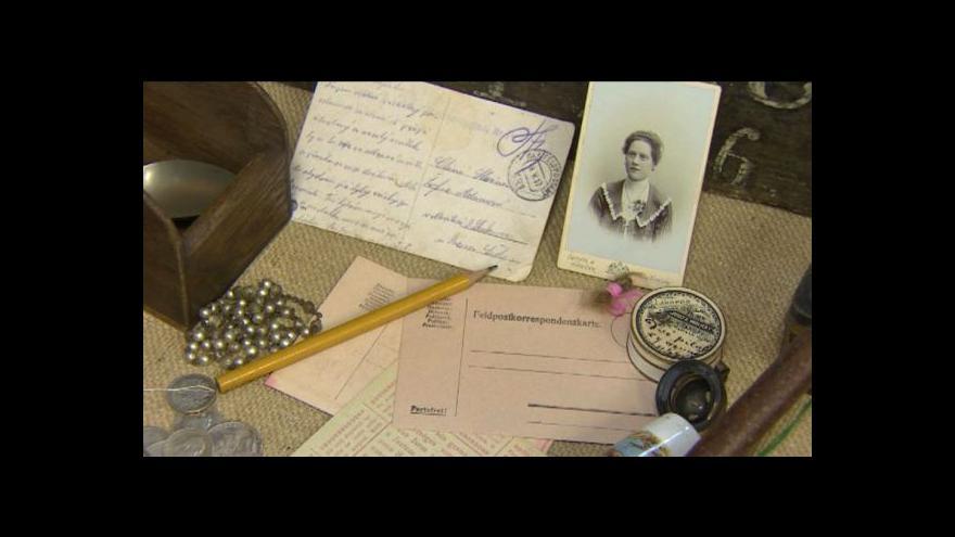 Video Výstava o 1. světové válce v Chýnově