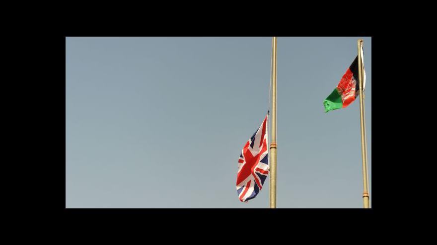 Video Matyáš Zrno k odchodu armád z Afghánistánu