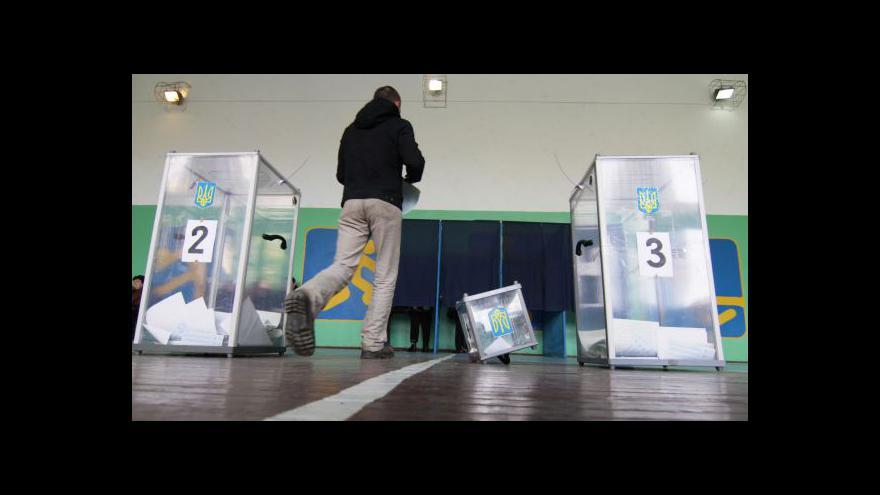 Video Ukrajinský volební speciál ČT24
